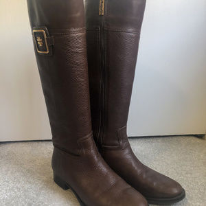 Tory Burch Julian Leather Boots